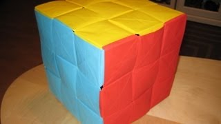 Origami -the Ultimate Rubik's Cube