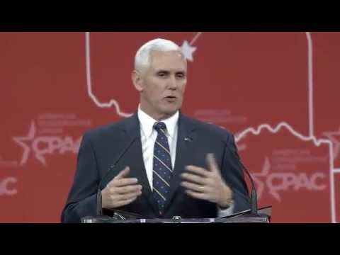 Ronald Reagan Dinner Keynote Address Governor Mike Pence, IN
