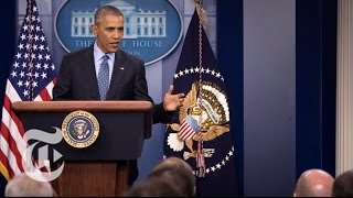 President Barack Obama's Final News Conference (Full Video) | The New York Times by : The New York Times