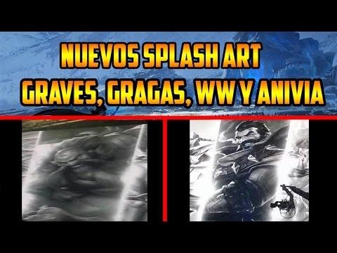Nuevos Splash Art Anivia, Gragas, Graves y WW | Noticiero League of Legends