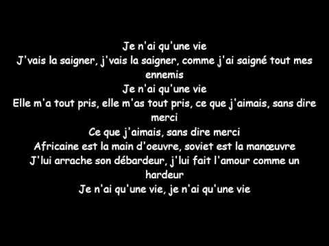 Booba - Une Vie (PAROLE OFFICIEL) - YouTube Rihanna Stay