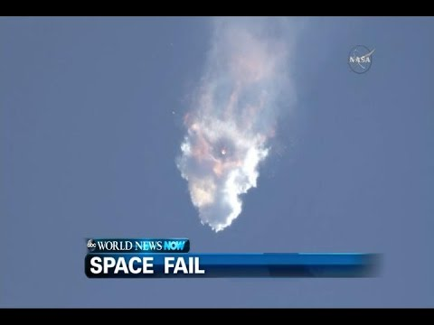 NASA\'s SpaceX rocket exploded in Earth\'s atmosphere, failing to re-supply the crew in The International Space Station.