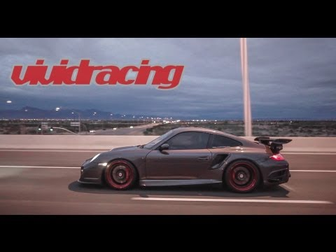 Porsche 997 Turbo Racing F16 Fighter Showing off at Track Owned by Cops