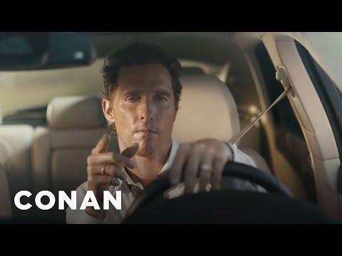 Matthew McConaughey's New Lincoln Ad