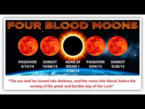 End Times News Update Eclipse Lunar September 28th 2015 Super Moon 4th Blood Moon video
