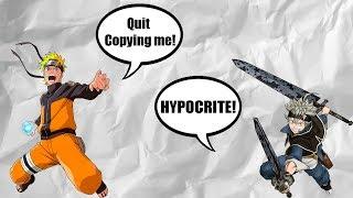 Naruto Hypocrites Vs Black Clover
