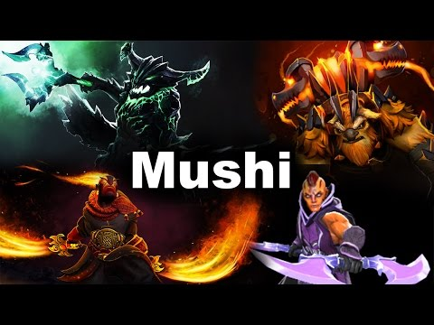 Mushi 17 Win Streak Team Malaysia Dota 2 video