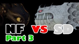 Night Fury vs Screaming Death (3/4)
