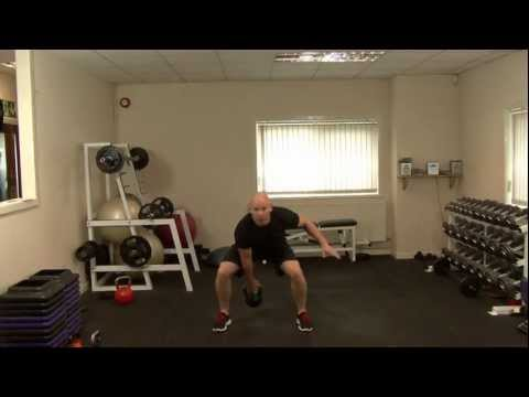 Kettlebells workout - kettlebells for beginners basic Kettlebell workout routines. Image 1