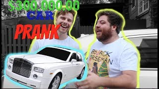 Hunter Hill: SURPRISING FRIEND WITH $300,000 CAR **PRANK**