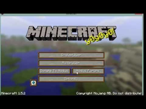 How to play cracked minecraft 1.5.2 online(Updateable)
