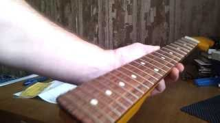 Warmoth stratocaster guitar neck unboxing
