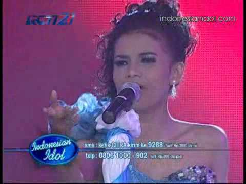 Citra - C I N T A  Grand Final  Indonesian Idol 31-07-2010