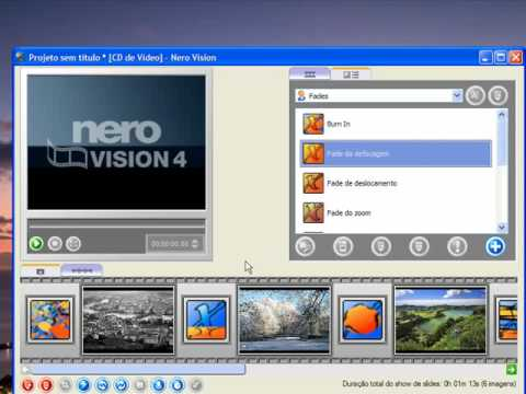Cria VCD com o Nero 7