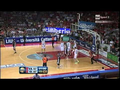 Cimberio Varese - Montepaschi Siena gara7 2nd half