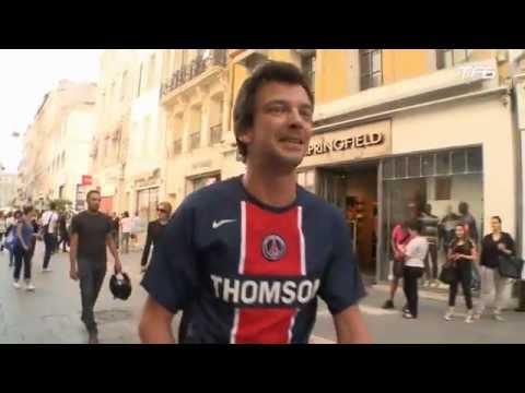 image vidéo Cauet : Un maillot du PSG en plein Marseille !