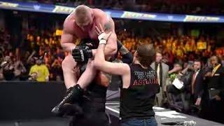 Brock Lesnar Vs Roman Reigns Vs Dean Ambrose Full Match 720p hd 2016