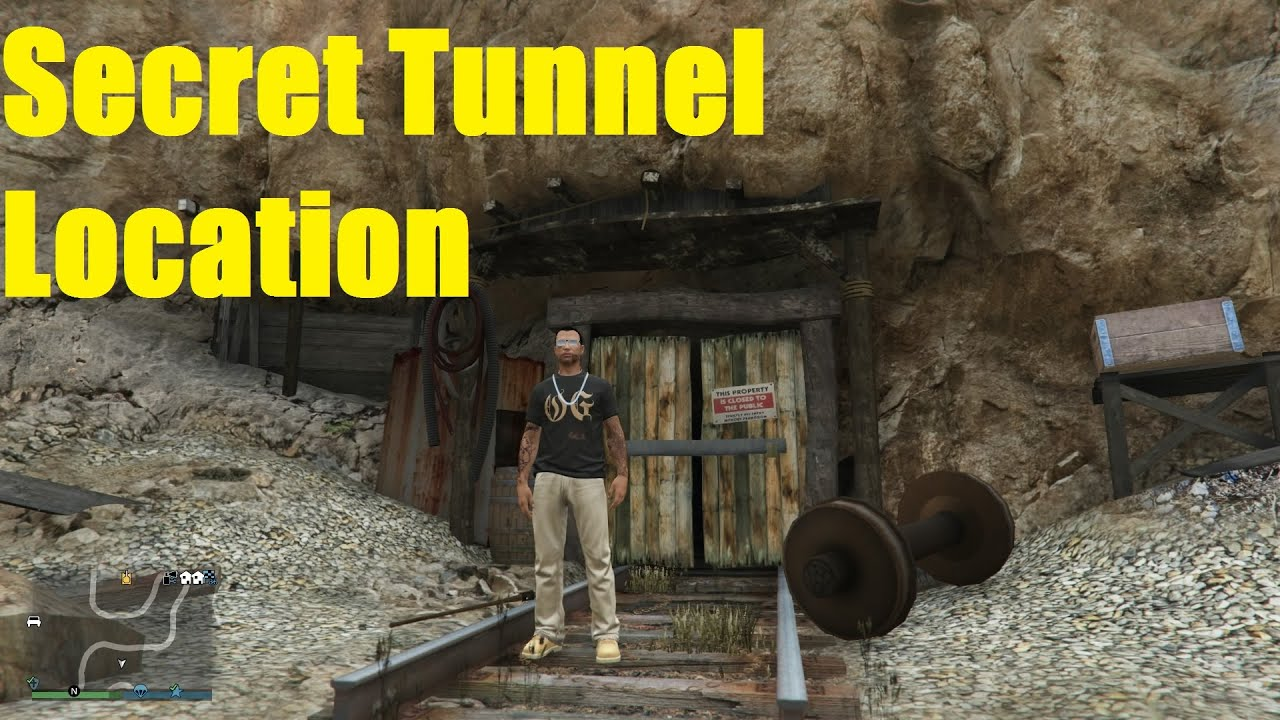 Tunnel Located Tunnel Location Seen by