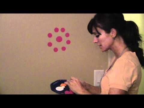 In this video I will paint polka dot circles and decorate the teenage girl's ...