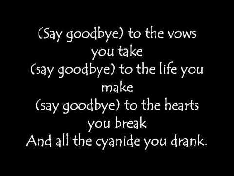 My Chemical Romance- To The End [Lyrics]