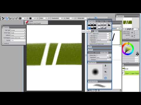 How to Make a Grainy Eraser In Corel X3 or 12