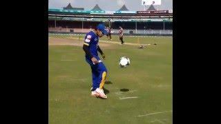 মুশফিকুর রহিম যখন  ফুটবলার   Mushfiqur Rahim's freestyle football skills