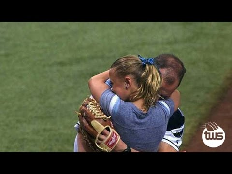 First Pitch ends in Big Surprise for Soldier's Daughter