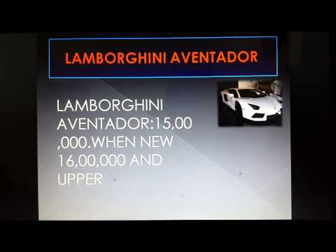All Lamborghini cost in saudi arabia