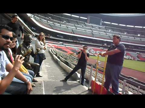Visita Al Estadio Azteca.... Justoooooooo?.... video