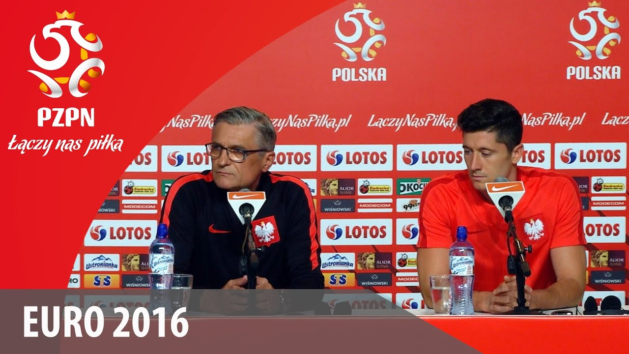 Konferencja reprezentacji Polski (La Baule, 07.06.2016)