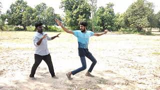 U turn saga song dance by Rajesh and Nikhil