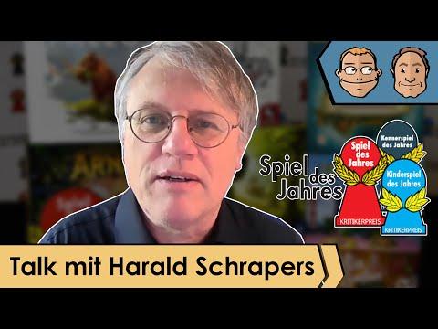 Talk mit Harald Schrapers - Vorsitzender des Vereins Spiel des Jahres - Auswahl der Spiele und mehr