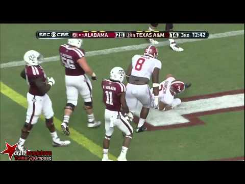 Johnny Manziel vs Alabama 2013