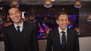 WHUFC Player Awards - Andy Carroll & Stewart Downing