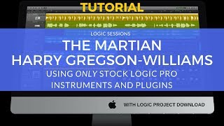 Logic Pro Tutorial: The Martian (Making Water) by Harry Gregson-Williams | Film Scoring Tutorial