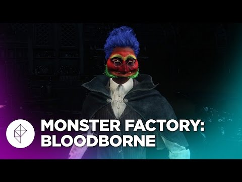 Monster Factory: Surviving Bloodborne with a Gun-hating Toucan Man