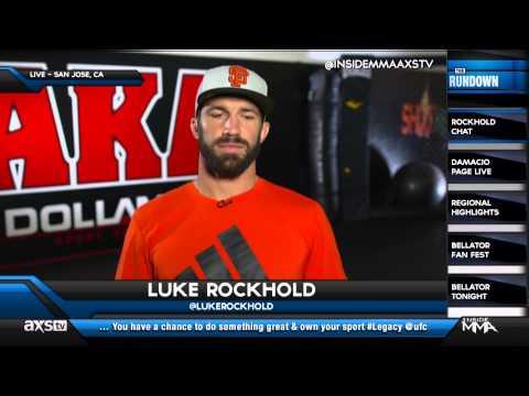 How Did the Rockhold-Bisping Rivarly Begin? Luke Rockhold Explains