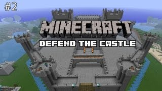 Minecraft: Defend The Castle - Get Them Over The Edge!