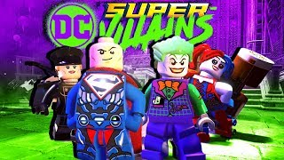 WORLD'S CRAZIEST SUPER VILLIAN! - LEGO DC Super Villains Gameplay