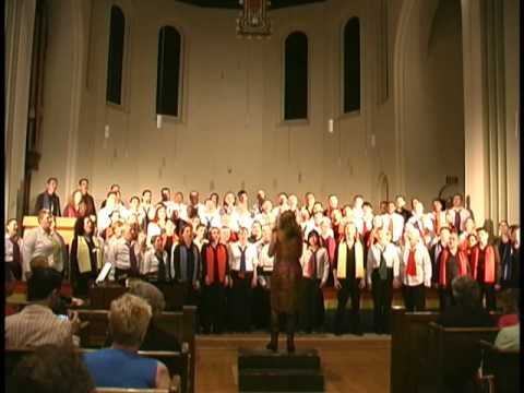 'Hallelujah' performed by Singing Out