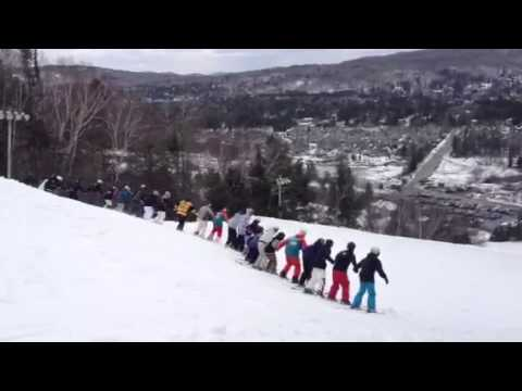 Freestyle Quebec, Canada Mont St-Sauveur Ski Backflip Record