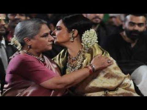Star Screen Awards 2016 | Jaya Bachchan & Rekha's Controversial HUG (News)