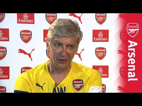 Arsene Wenger on Boreham Wood pre-season friendly