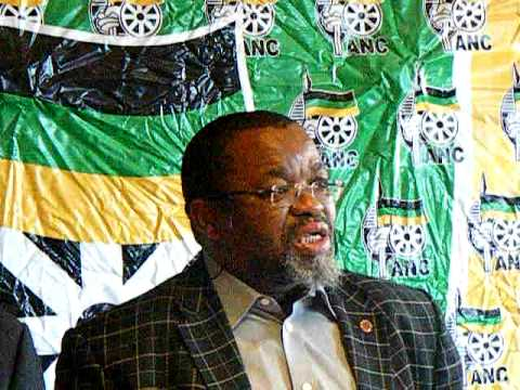 Gwede Mantashe on Zwelinzima Vavi and Cosatu