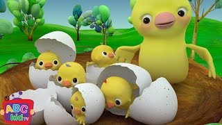 Five Little Birds | Nursery Rhymes & Kids Songs - ABCkidTV