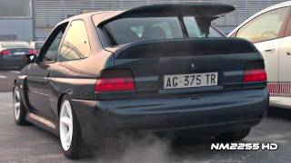 Ford Escort RS Cosworth Turbo Anti-Lag Backfiring!!