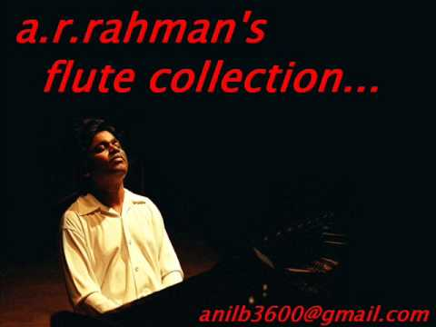 A.R.Rahmans Flute Collection