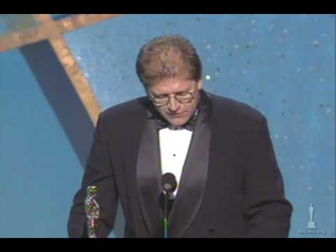 Robert Zemeckis winning an Oscar® for