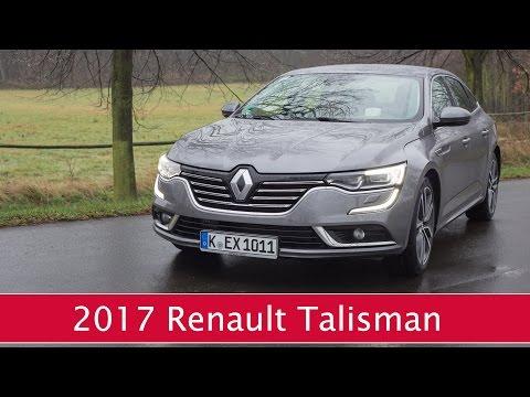 Neuer Renault Talisman ENERGY dCi 160 Beschleunigung 0 -100km/h