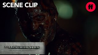 Shadowhunters | Season 2 Episode 17: Clary And Jonathan Come Face To Face | Freeform